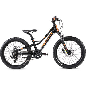 s'cool faXe race 20 7-S Kinderen, black/orange matt